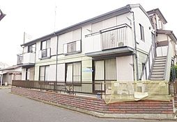 埼玉県川越市大字木野目の賃貸アパートの外観