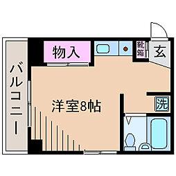 第2長井ビル[4階]の間取り