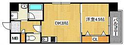 DiasII 鶴見6丁目新築[601号室号室]の間取り
