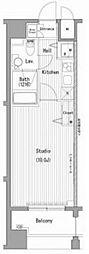 ガーラプレシャス横濱関内[5階]の間取り