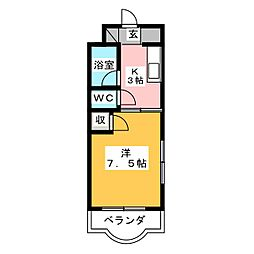 S−PALACEIV[2階]の間取り
