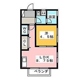 プリマヴェラ[1階]の間取り