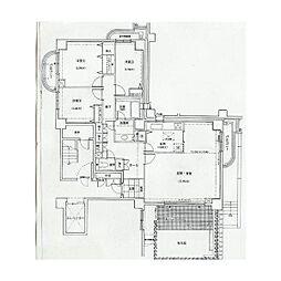 タワーズウエスト[512号室]の間取り