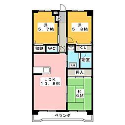 ACT−3[3階]の間取り
