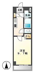 ラ・ナチュール[4階]の間取り