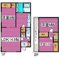 [一戸建] 北海道札幌市北区拓北七条4丁目 の賃貸【/】の間取り