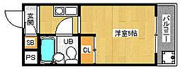 「メゾン・ド・パルファン」[2階]の間取り
