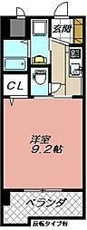 セレスタイト黒崎[208号室]の間取り