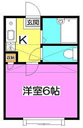 La Tajour 〜ラ・タジュール〜[2階]の間取り