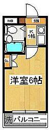 ア・フィットステージ市川南[2階]の間取り