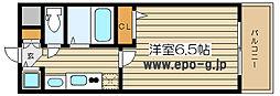 エスライズ梅田東[9階]の間取り