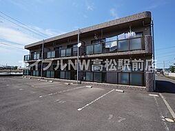 香川県高松市小村町の賃貸マンションの外観