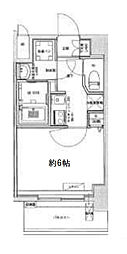 Osaka Metro中央線 九条駅 徒歩6分の賃貸マンション 7階1Kの間取り