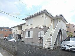 神奈川県厚木市岡田5丁目の賃貸アパートの外観
