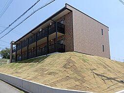 兵庫県三木市志染町中自由が丘3丁目の賃貸アパートの外観
