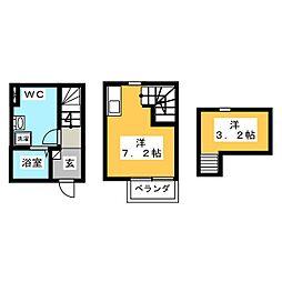 仮)加納沓井町アパート[1階]の間取り