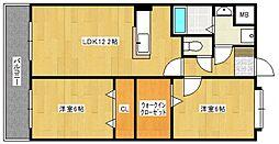 サピエンツァ太宰府[305号室号室]の間取り