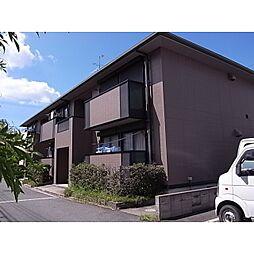 奈良県桜井市阿部の賃貸アパートの外観