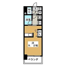レジディア丸の内[7階]の間取り