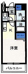 埼玉県川口市弥平4丁目の賃貸マンションの間取り