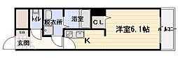 LIVE SQUARE 豊秀[8階]の間取り