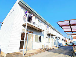 埼玉県狭山市中央1丁目の賃貸アパートの外観