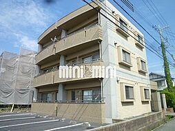 愛知県日進市梅森町西後の賃貸マンションの外観
