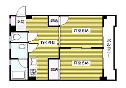 第2ニューハイム西台[3階]の間取り