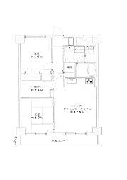 マンション(西線6条駅から徒歩2分、2LDK、1,180万円)