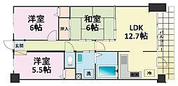 グランプレステージ加古川II[202号室]の間取り