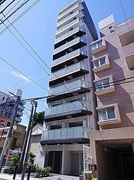 神奈川県横浜市神奈川区青木町の賃貸マンションの外観