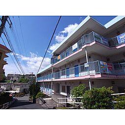 奈良県生駒市西旭ケ丘の賃貸マンションの外観