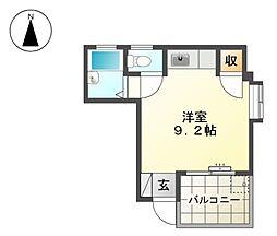 マンション沖[3階]の間取り