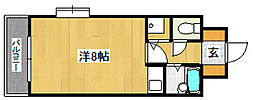 パークサイビル[2階]の間取り