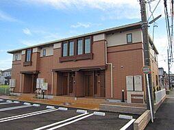 愛知県海部郡大治町大字西條字大辻の賃貸アパートの外観