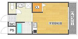 STUDIO阪下[3階]の間取り