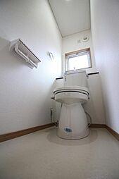 トイレには清潔...