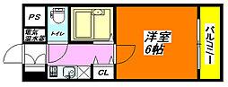 イマザキマンション・エヌワン 813号室[8階]の間取り