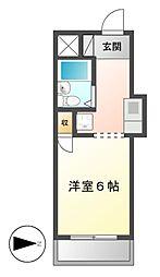 レスパス千種[8階]の間取り