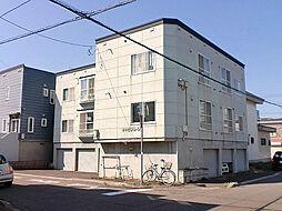 北海道札幌市東区北三十条東18丁目の賃貸アパートの外観