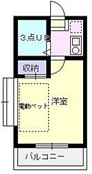 エマーユ川越東田町[406号室号室]の間取り