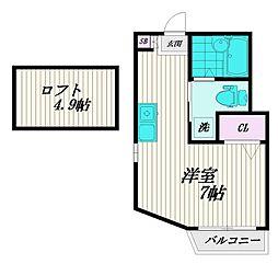 Fe[3階]の間取り