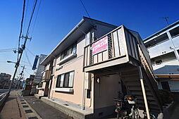 大阪府柏原市国分本町2丁目の賃貸アパートの外観