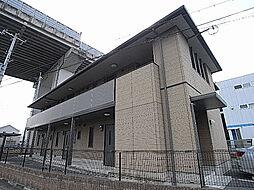兵庫県姫路市別所町佐土1丁目の賃貸アパートの外観