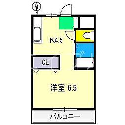 ジョイフル大川筋[3階]の間取り