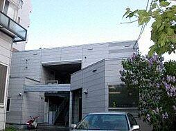 北海道札幌市中央区北六条西11丁目の賃貸アパートの外観