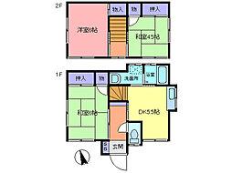 [一戸建] 埼玉県春日部市谷原1丁目 の賃貸【/】の間取り
