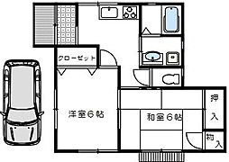 [一戸建] 埼玉県さいたま市北区日進町1丁目 の賃貸【/】の間取り