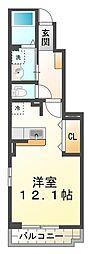 西舞子4丁目新築アパート[1階]の間取り
