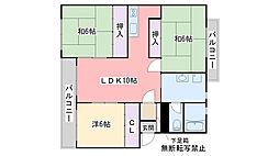 レジデンス飯倉[403号室]の間取り
